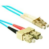 ENET 1M SC/SC Duplex Multimode 50/125 10Gb OM3 or Better Aqua Fiber P