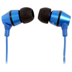 Mach Speed My Buds Premium Metal Blue Earbud