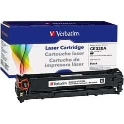 Verbatim Toner Cartridge - Remanufactured for HP (CE320A) - Black
