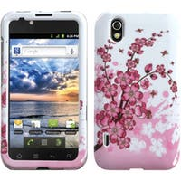 INSTEN Spring Flowers Phone Case Cover for LG LS855 Marquee