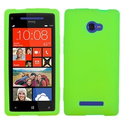INSTEN Green Phone Case Cover for HTC Windows Phone 8X