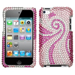 INSTEN Phoenix Tail Diamante iPod Case Cover for Apple iPod Touch 4th Generation