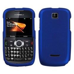 INSTEN Titanium Solid Dark Blue Phone Case Cover for Motorola WX430 Theory