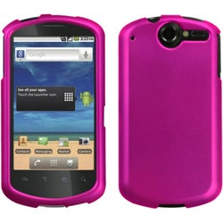 INSTEN Titanium Solid Hot Pink Phone Case Cover for Huawei U8800 Impulse 4G