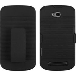 INSTEN Black Holster for Coolpad 5860E Quattro 4G