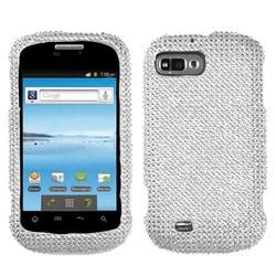 INSTEN Silver Diamante Phone Case Cover for ZTE N850 Fury