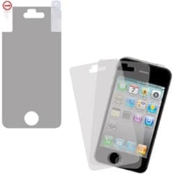 INSTEN Clear Screen Protector Twin Pack for Apple iPhone 4S/ 4