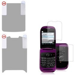INSTEN Clear Screen Protector Twin Pack for Blackberry 9670 Style
