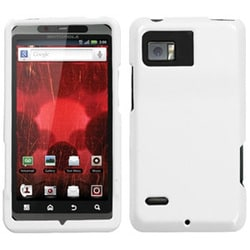 INSTEN Solid Ivory Phone Case Cover for Motorola XT875 Droid Bionic