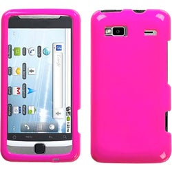 INSTEN Solid Shocking Pink Phone Case Cover for HTC G2 Vision