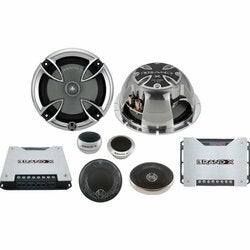 BrandX XXLHDS3 6.5-inch Three-way Component Speaker System