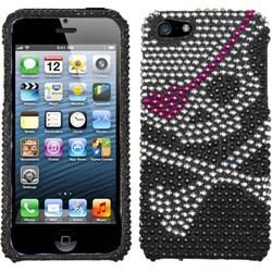 INSTEN Skull Diamante Protector Phone Case Cover for Apple iPhone 5/ 5S/ SE