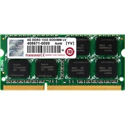 Transcend 4GB DDR3L 1333 SO-DIMM 2Rx8