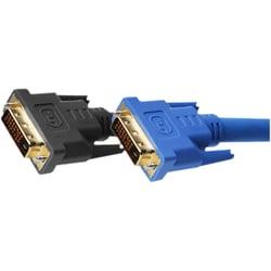 Gefen Dual Link DVI Copper Cable 50 ft (M-M), Black, Retail Package