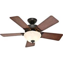 Buy hunter fan ceiling fans online at overstock our best hunter fan the kensington 42 ceiling fan aloadofball Image collections
