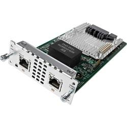 Cisco 2 port Multi-flex Trunk Voice/Clear-channel Data T1/E1 Module