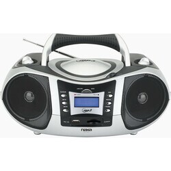 Naxa Portable MP3/CD Player, with AM/FM Radio & USB/SD/MMC Slot