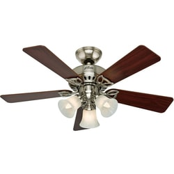 Hunter The Beacon Hill 42-inch Brushed Nickel Fan