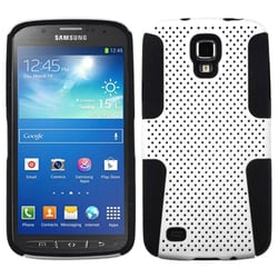 INSTEN White/ Black Astronoot Phone Case Cover for i537 Galaxy S4 Active