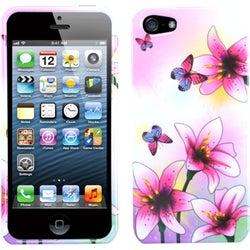 INSTEN Spring Lillies Phone Case Cover for Apple iPhone 5 / 5S / SE