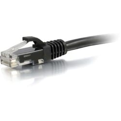 C2G 6in Cat6 Snagless Unshielded (UTP) Network Patch Cable - Black