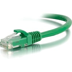 C2G 6in Cat6 Snagless Unshielded (UTP) Network Patch Cable - Green