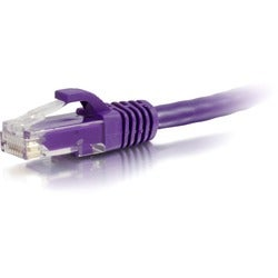 C2G 6in Cat6 Snagless Unshielded (UTP) Network Patch Cable - Purple