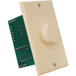 PyleHome Wall Mount Rotary Volume Control Knob (3 Color Wall Plate)