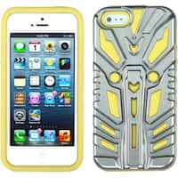 INSTEN Hybrid Zenobots Phone Case Cover for Apple iPhone 5 / 5S / SE