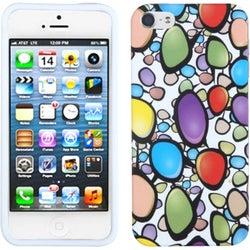INSTEN Rainbow Gemstones Skin Phone Case for Apple iPhone 5 / 5S / SE