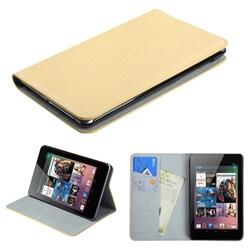 INSTEN White Premium Wallet for Google Nexus 7