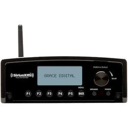 Grace Digital GDI-SXBR1 Internet Radio - Wireless LAN - Black