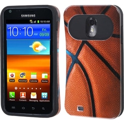INSTEN Basketball-Sports Collection/ Black Phone Case Cover for Galaxy S II R760