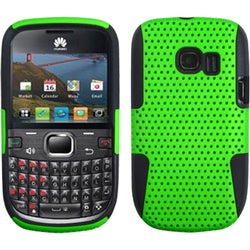 INSTEN Green/ Black Astronoot Phone Case Cover for Huawei M636 Pinnacle 2