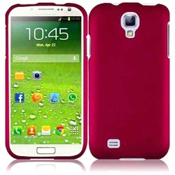 INSTEN Pink Rubberized Matte Hard Plastic Snap-on Phone Case Cover for Samsung Galaxy S4 LTE/ S4
