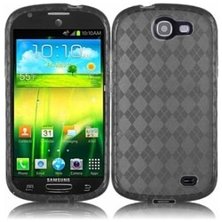 INSTEN Premium Smoke TPU Rubber Candy Skin Phone Case Cover for Samsung Galaxy Express GT-I8730