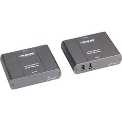 Black Box USB Ultimate Extender over UTP, 2-Port, with Remote Power