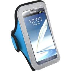 INSTEN Baby Blue Vertical Pouch Armband for LG Optimus G Pro E980