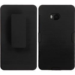 INSTEN Black Hybrid Holster for Nokia 810 Lumia