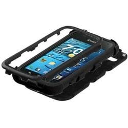 INSTEN Black/ Black TUFF Hybrid Phone Case Cover for Kyocera Hydro Edge