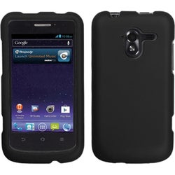 INSTEN Black Phone Case Cover for ZTE N9120 Avid 4G
