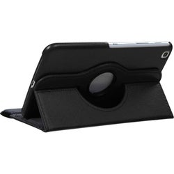 INSTEN Black Rotatable Tablet Case Cover for Samsung T310 Galaxy Tab 3 8.0