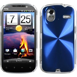 INSTEN Blue/ Cosmo Phone Case Cover for HTC Amaze 4G