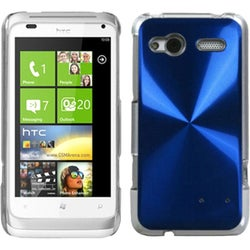 INSTEN Blue Cosmo Back Phone Case Cover for HTC Radar 4G