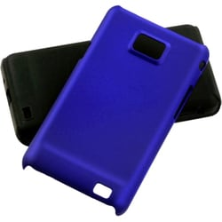 INSTEN Dark Blue Fusion Phone Case Cover for Samsung I777 Galaxy S II