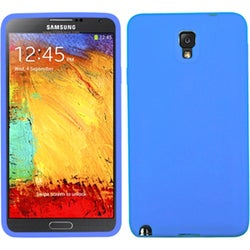 INSTEN Dark Blue Solid Skin Phone Case Cover for Samsung N900A Galaxy Note 3
