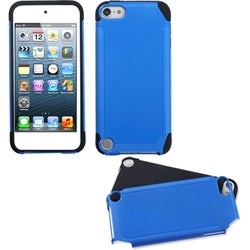 INSTEN Dark Blue/ Black Frosted Fusion iPod Case Cover for Apple iPod touch