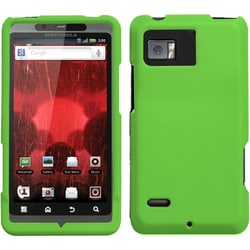 INSTEN Dark Green Phone Case Cover for Motorola XT875 Droid Bionic