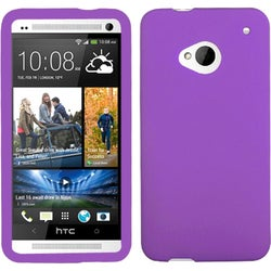 INSTEN Electric Purple Skin Phone Case Cover for HTC One/ M7
