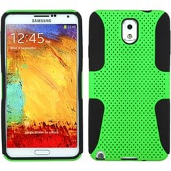 INSTEN Green/ Black Astronoot Phone Case Cover for Samsung N900A Galaxy Note 3